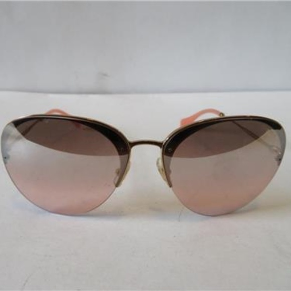 44d56128ccc Miu Miu Accessories - NWOT MIU MIU PINK   GOLD AVIATOR SUNGLASSES